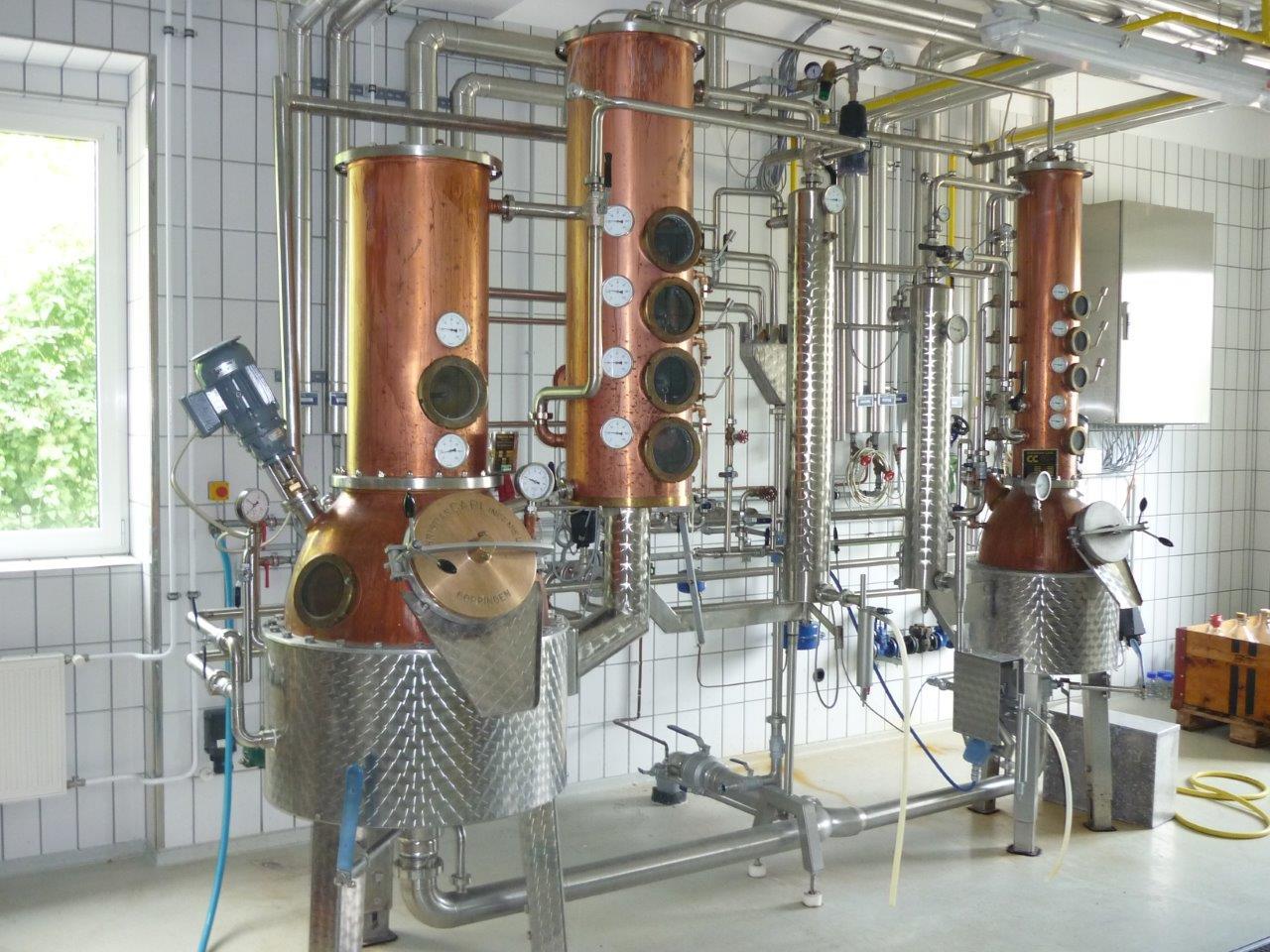 Destillationsanlage der Höheren Bundeslehranstalt und Bundesamt für Wein- und Obstbau Klosterneuburg