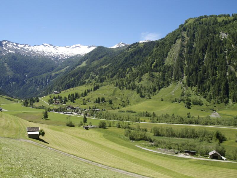Alpine Kulturlandschaft in Österreich